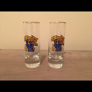 5/$20! UK Wildcats Shot Glass Set